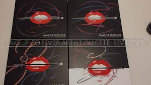 makeup forever artist palette review 1