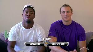 Celebrities - LA Rams Aaron Green & Bryce Williams - Kitten Bowl ...