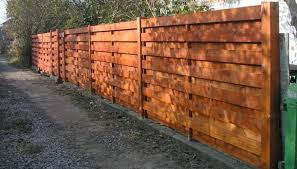 How To Build A Horizontal Fence Without A Lot Of Effort