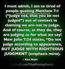 quotes about judgment of christ quotes
