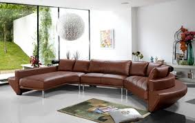 baroque curved sectional sofain living