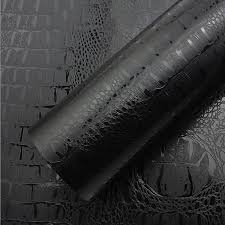 Black Crocodile Leather Grain Texture Vinyl Car Wrap Sticker Decal Film Adhesive Sticker Interior Car Styling Covering Wrapping Car Stickers Aliexpress
