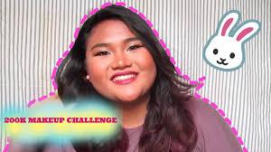 200k makeup challenge abel cantika
