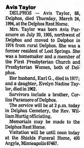 Taylor Avid SJ 26 Mar 1994 - Newspapers.com