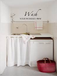 Wash Worries Away Wall Decals Trading Phrases