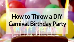 amazing carnival birthday party