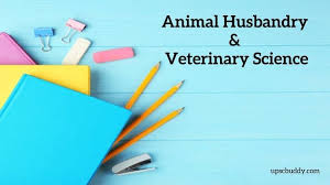 UPSC Animal Husbandry & Veterinary Science Syllabus 2020