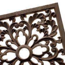 Vintage Wood Carved Decal Mouldings Furniture Cabinet Decor Onlay Applique Craft