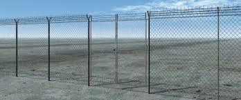 Barbed Wire Fence Vue 3d Model Sharecg