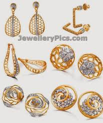 gold earrings from tanishq mia