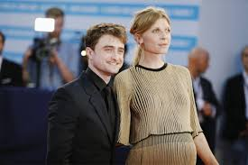 CLEMENCE POESY — Clémence Poésy and Daniel Radcliffe attend the...