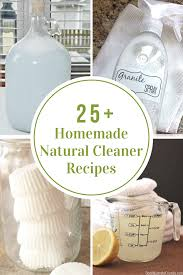 homemade natural cleaner recipes the