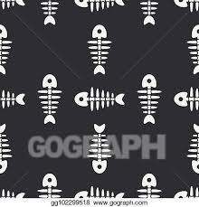 flat line monochrome vector seamless