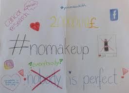 non profit caign no makeup selfie