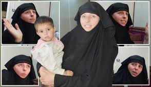 Isis bride Lisa Smith pleads for return to Ireland with daughter after  being tracked to refugee camp in Syria