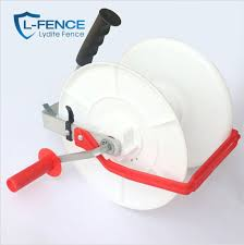 China Electric Fence Geared Electric Fence Poly Reel And Electric Fence Poly Reel For Sale China Fence Reels And Fencing Wire Reel Price