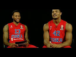 One-on-One: Sonny Weems & Kyle Hines, CSKA Moscow - YouTube
