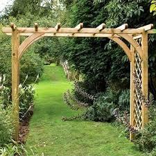 english garden arches wide garden arches