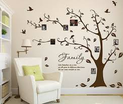 Family Tree Sticker Photo Frame Birds Wall Sticker Art Diy Wall Decal Home Decor Ebay