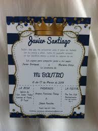 Invitaciones Para Presentacion Bautizo Comunion Pedido Esp S 625 00 En Mercado Libre