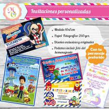 10 Invitaciones 10x7cm Tarjetas Personalizadas Cumpleanos 145