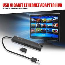 USB 3.0 to Rj45 Hub Gigabit Ethernet Adapter 1000Mbps for Xiaomi Mi Box 3/S  4 4c se Android TV Set top Box Network Card Lan|