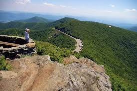 craggy pinnacle hike on blue ridge parkway