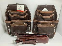 2 heavy 10 pkt oil tanned leather