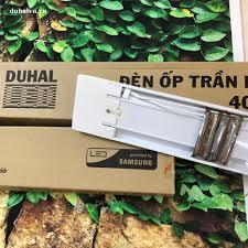Đèn ốp trần LED chụp mica 40W (KDLD840) - Đại lý đèn LED Duhal