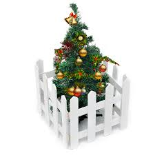 White Carbonized Color 1 2 Meters Long 30cm High Solid Wood Fence Christmas Tree Fence Fence White Wooden Fence Buy Online At Best Prices In Pakistan Daraz Pk