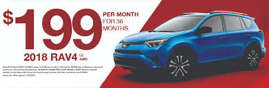 lease a rav4 for just 199 month