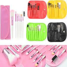 7pcs unicorn kabuki makeup brushes set