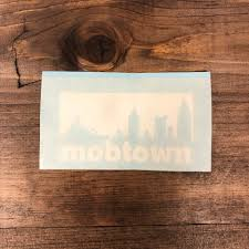 Window Decals Mobtown Merch