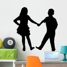 Children Dance Wall Decal Wallmonkeys Com