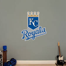 Kansas City Royals Logo Kansas City Royals Mlb Kansas City Royals Kansas City Royals Logo Sports Wall Decals