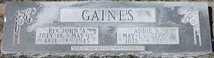 Adeline Richardson Gaines