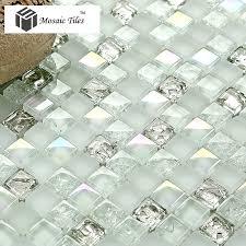 tst crystal glass mosaic tile aqua