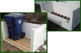 Trash Enclosures Homestead Fence