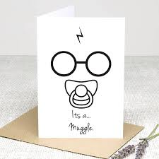 congratulations its a muggle harry potter baby shower
