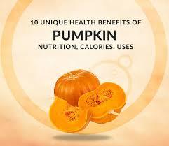 10 unique health benefits of pumpkin