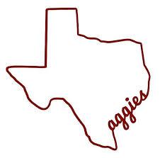 Texas Aggies Silhouette Decal Texas Aggies Decal Car Decal Etsy In 2020 Texas Aggies Texas Stickers Texas A M College