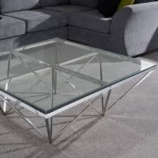 stirling square glass coffee table