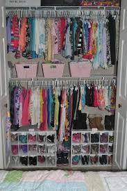Clustered Closets Kids Closet Organization Kids Room Organization Shoe Organization Closet