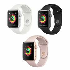 apple watch series 3 38mm gps only