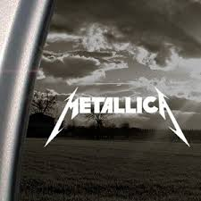 Metallica Rock Band Decal Car Truck Wind Buy Online In Guernsey At Desertcart