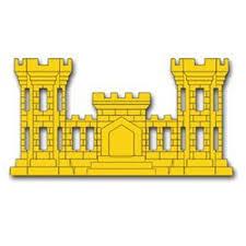 United States Army Engineer Corps Insignia Decal Sticker 3 8 Walmart Com Walmart Com