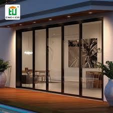 aluminum profile glass sliding door