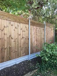 Venetian Slatted Contemporary Garden Fencing London