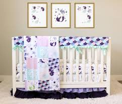purple mermaid crib bedding ocean