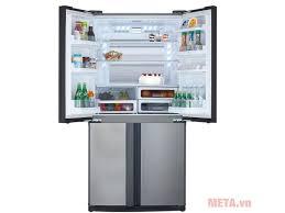 Tủ lạnh Inverter Sharp SJ-FX631V-SL 626 lít - META.vn
